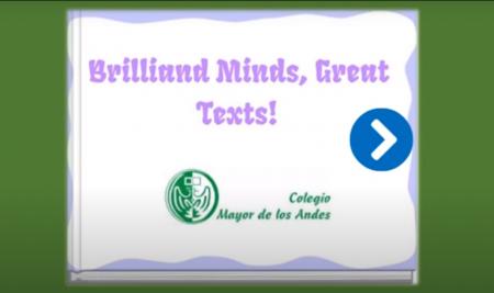 Brilliant Minds, Great Texts!